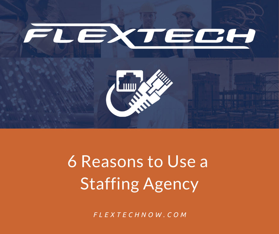 Six Reasons to Use a Staffing Agency