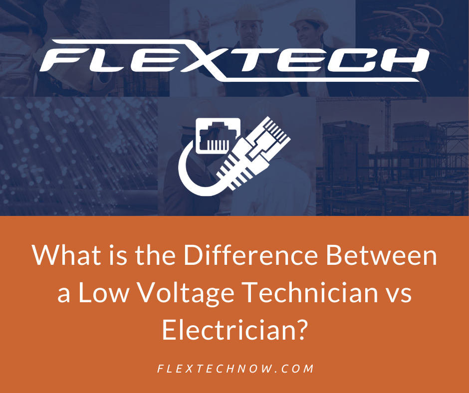 What is the Difference Between a Low Voltage Technician vs Electrician?